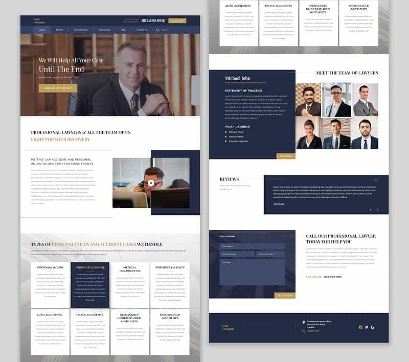 בניית אתרים לעורך דין